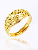 cheap -Men's Women's Cuff Ring , Asian Vintage Gold Plated Irregular Jewelry Gift Daily
