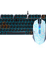 abordables -dareu con cable teclado mecánico ratón negro cambia 1,8 m siete clave 6000 ppp