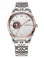 abordables -Hombre Mujer Reloj de Moda Reloj de Vestir Reloj de Pulsera Suizo Cuarzo Calendario Cronógrafo Resistente al Agua Reloj Casual
