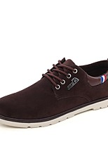 cheap -Men's Shoes Fabric Spring Fall Comfort Oxfords for Casual Office & Career Blue Brown Black