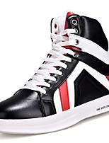 economico -Da uomo Scarpe PU (Poliuretano) Primavera Autunno Comoda Sneakers per Casual Bianco Nero Bianco/nero
