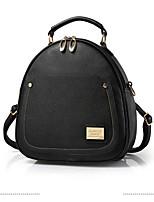 cheap -Women Bags PU Shoulder Bag Zipper for Casual All Season Sky Blue Fuchsia Dark Blue Beige Blushing Pink