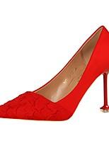 economico -Da donna Scarpe Finta pelle Primavera Autunno Comoda Tacchi A stiletto Appuntite per Formale Serata e festa Grigio Rosso Verde Rosa Cachi