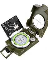 cheap -Compasses Outdoor Geometric Compass Glow In The Dark Snow Walking Climbing Camping / Hiking / Caving All-mountain Traveling Zinc Alloy