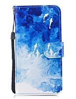 economico -Custodia Per Apple iPhone X iPhone 8 Porta-carte di credito A portafoglio Con supporto Con chiusura magnetica Fantasia/disegno Integrale