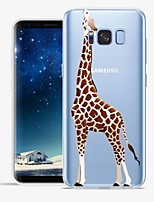 cheap -Case For Samsung Galaxy S8 Plus S8 Pattern Back Cover Cartoon Animal Soft TPU for S8 Plus S8 S7 edge S7 S6 edge plus S6 edge S6