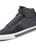 economico -Da uomo Scarpe Pelle di maiale PU (Poliuretano) Inverno Autunno Comoda Sneakers per Casual Nero Grigio Rosso