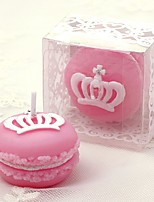 Birthday candle romantic wedding candle crown macaron art candle gift
