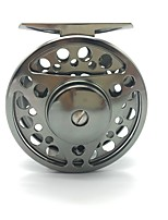cheap -Fishing Reel Fly Reels Ice Fishing Reels 1:1 2 Ball Bearings Exchangable Fly Fishing Bait Casting-FTS 75mm