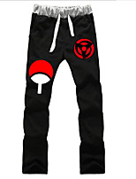abordables -Inspirado por Naruto Hokage Animé Disfraces de cosplay Tops Bottoms Cosplay Un Color Pantalones Para Unisex