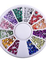 economico -strass gioielli glitter colorati per unghie