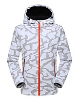 cheap -Men's Hiking Fleece Jacket Outdoor Winter Keep Warm Wearable Top Single Slider Running/Jogging Camping / Hiking Snow Walking Casual