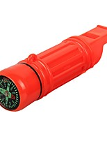 cheap -Survival Whistle Outdoor Exercise Camping / Hiking / Caving Camping & Hiking Outdoor Plastic 1 pcs