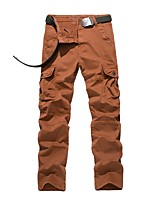 Men's Hiking Cargo Pants Outdoor Wearable Cross Country Back Country Fitness Winter Pants / Trousers Outdoor Exercise Multisport
