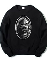 cheap -Sandor Clegane Ugly Christmas Sweater / Sweatshirt Male Festival / Holiday Halloween Costumes Cyan Black Letter