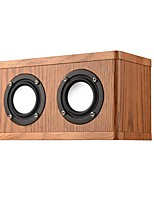 cheap -W10 Bluetooth Speaker Bluetooth 4.2 Audio (3.5 mm) Bookshelf Speaker Brown Black