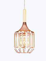 cheap -Lantern Country Modern/Contemporary Crystal Mini Style Pendant Light Ambient Light For Living Room Dining Room Shops/Cafes 220-240V 350lm