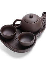 cheap -4pcs Pottery Teapot Cute New High Quality , 23*14.5*3.7