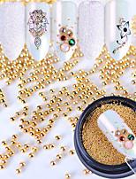 Glitter Accessori Glamour Oro Nail Art Design