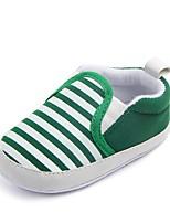 Недорогие -Дети обувь Ткань Весна Осень Удобная обувь Обувь для малышей Пинетки На плокой подошве На эластичной ленте для Повседневные Темно-синий