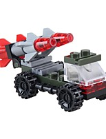 cheap -Building Blocks Military Vehicle Toys Vehicles Military Stress and Anxiety Relief Decompression Toys Parent-Child Interaction ABS Kids