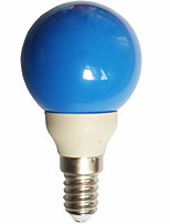 cheap -0.5W E14 LED Globe Bulbs G45 7 leds Dip LED Blue 15-25lm 300000K AC100-240V