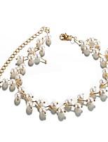 cheap -Women's Vintage Fashion Choker Necklace Imitation Pearl Imitation Pearl Alloy Choker Necklace , Vintage Fashion Party Gift