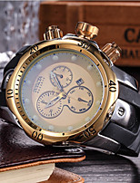 cheap -Men's Kid's Fashion Watch Wrist watch Japanese Quartz Calendar / date / day Chronograph Casual Watch Silicone Band Casual Cool Black