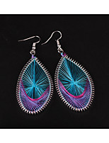 Women's Drop Earrings Bohemian Oversized Alloy Leaf Oval Jewelry For Party Club