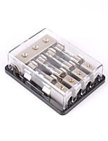 Недорогие -4-way / 4x agu встроенный блок плавких вставок блок стерео / аудио / автомобиль 60a