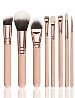 cheap -8 pcs Makeup Brush Set Blush Brush Eyeshadow Brush Eyeliner Brush Powder Brush Foundation Brush Synthetic Hair Eco-friendly Professional
