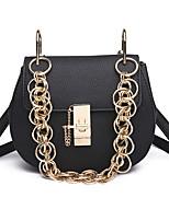 cheap -Women Bags PU Crossbody Bag Buttons for Casual All Season Black Red Purple Dark Green Brown