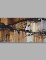 Hand-Painted Abstract Horizontal,Modern Canvas Oil Painting Home Decoration One Panel