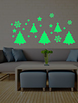 cheap -Christmas Landscape Wall Stickers Plane Wall Stickers Decorative Wall Stickers,Vinyl Home Decoration Wall Decal Window Wall
