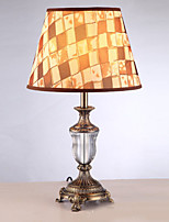 Lumière d'ambiance Artistique Lampe de Table Protection des Yeux Interrupteur ON/OFF Alimentation AC 220V Marron