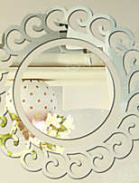 Shapes Wall Stickers Mirror Wall Stickers Decorative Wall Stickers,Paper Home Decoration Wall Decal Wall Glass/Bathroom
