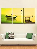 Toile Moderne,Trois Panneaux Toile Format Vertical Imprimé Décoration murale For Décoration d'intérieur