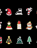 cheap -Christmas Ornaments Nail Jewelry DIY Tools Multi-Color 0.045kg/box Nail Art Decoration