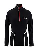 economico -Per donna Manica lunga Golf T-shirt Allenamento Traspirabilità Golf