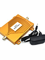 mini GSM 900Mhz 2G 3G W-CDMA 2100MHz Dual Band Mobile Phone Signal Booster UMTS Signal Repeater with Power Supply / Golden