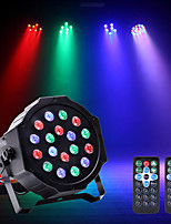 cheap -U'King LED Stage Light / Spot Light LED Par Lights DMX 512 Master-Slave Sound-Activated Auto Remote Control for Club Party Stage Wedding