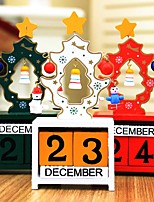 cheap -Christmas Gifts Christmas Wooden Wedding Decorations Holiday Fairytale Theme Romance Spring, Fall, Winter, Summer
