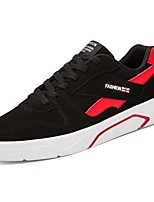 cheap -Men's Shoes PU Spring Fall Comfort Sneakers for Casual Black/Red Black/White Red