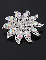 cheap -Women's Bridal Jewelry Sets Brooches Simple Fashion Wedding Office & Career Silver Plated Brooch