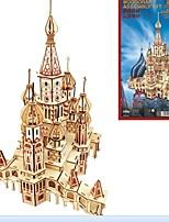 Недорогие -Деревянные пазлы Модель дерева Наборы для моделирования Лошадь День рождения День Святого Валентина Маскарад Мода Высокое качество Русский