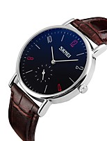 cheap -Men's Kid's Casual Watch Sport Watch Fashion Watch Japanese Quartz Water Resistant / Water Proof Large Dial Casual Watch Genuine Leather