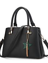 cheap -Women Bags PU Shoulder Bag Zipper Tassel for Shopping Casual All Season Wine Army Green Purple Gray Blushing Pink