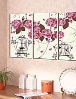 Toile Rustique Moderne,Trois Panneaux Toile Format Vertical Imprimé Décoration murale For Décoration d'intérieur