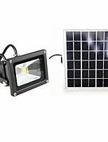 cheap -1pc 10W Solar Flood Light Warm/Cool Color Light-control IP65 Waterproof Outdoor Light