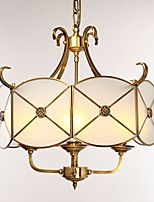 cheap -Traditional/Classic Modern/Contemporary Mini Style Chandelier Ambient Light 220-240V 110-120V Bulb Not Included